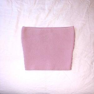 ARITZIA Light Pink Tube Top